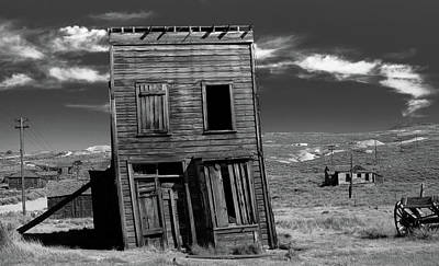 The Leaning Tower Of Bodie Art Print by Marius Sipa