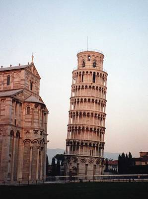 Art Print featuring the photograph The Leaning Tower Of Pisa by Marna Edwards Flavell