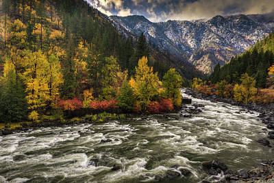 Photograph - The Leavenworth Bend by Mark Kiver