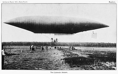 Photograph - The Lebaudy Airship, 1903 by Granger