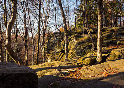 Photograph - The Ledges 4 by Tim Fitzwater