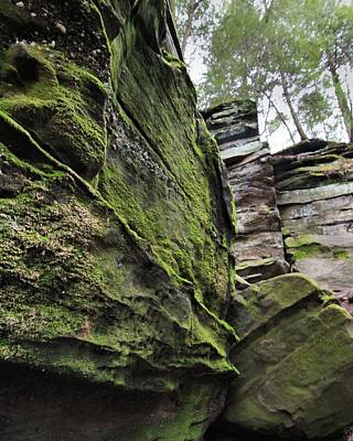 Akron Falls Photograph - The Ledges In Cuyahoga Valley National Park by Dan Sproul