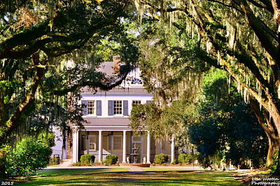 Photograph - The Legare-waring House At Charles Town Landing by Lisa Wooten