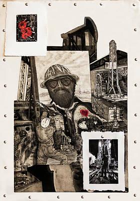 The Legend Of Riggo Maddix Art Print