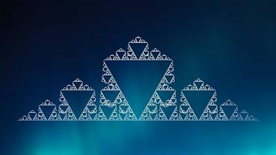 Digital Art - The Legend  Of The Triangle by Sheila Mcdonald