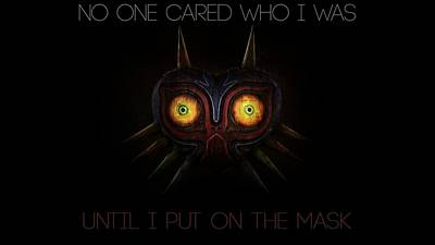 Design Wall Art - Digital Art - The Legend Of Zelda Majora's Mask by Maye Loeser