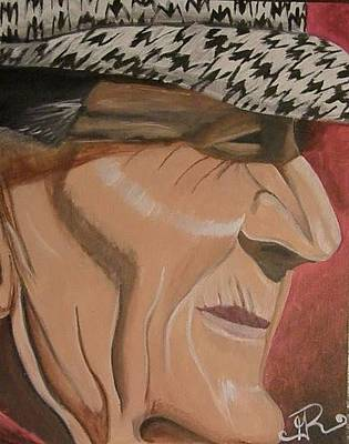 Paul Bear Bryant Painting - The Legend Series I by Ginny Roberts