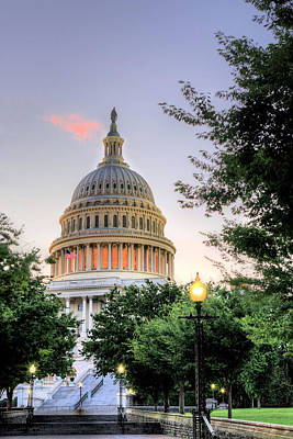 Photograph - The Legislative Branch by JC Findley