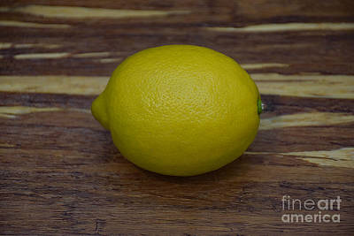 Photograph - The Lemon by Ray Shrewsberry