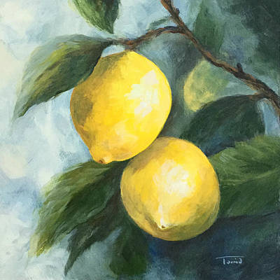 Painting - The Lemon Tree by Torrie Smiley