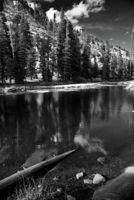 Water Reflections Photograph - The Lengths That I Would Go To by Laurie Search