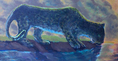 Painting - The Leopard by Enrico Garff