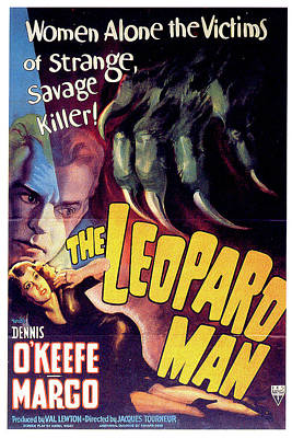 The Leopard Man Art Print by Movieworld Posters