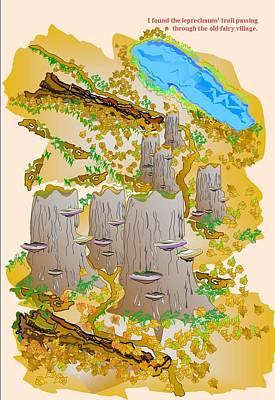 The Leprechauns Trail Art Print