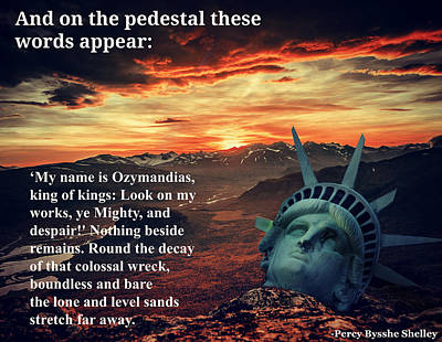 Photograph - The Lesson Of Ozymandias by Aurelio Zucco