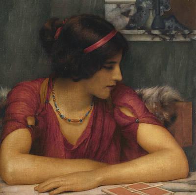 The Letter Art Print by John William Godward