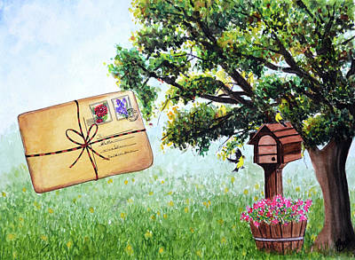 Painting - The Letter by Swati Singh