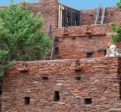 Photograph - The Levels Of The Hopi House by Kirt Tisdale