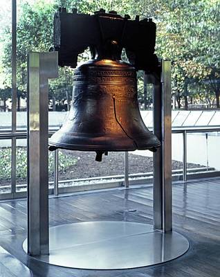 The Liberty Bell, On Display Art Print by Everett