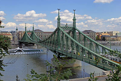 Photograph - The Liberty Bridge by Tony Murtagh