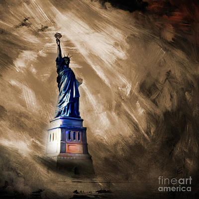 The Liberty Of Statue  Original