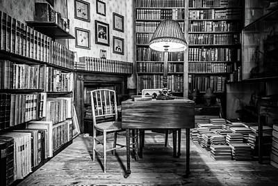 Photograph - The Library by Nick Bywater