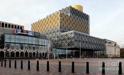 The Library Of Birmingham 2 Art Print