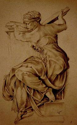 The Libyan Sibyl Original by A Hwais
