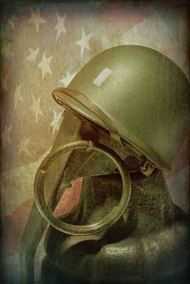 Old Glory Photograph - The Lieutenant by Tom Mc Nemar