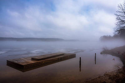 Photograph - The Lifting Fog  by Irwin Seidman