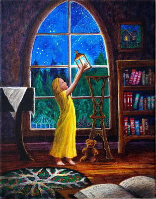 Painting - The Light And The Lampstand by Matt Konar