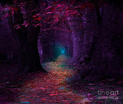 Digital Art - The Light At The End by Rod Jellison