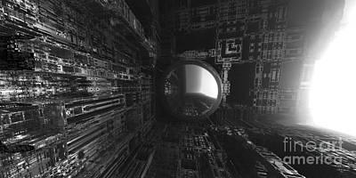 Digital Art - The Light Awaits by Jon Munson II