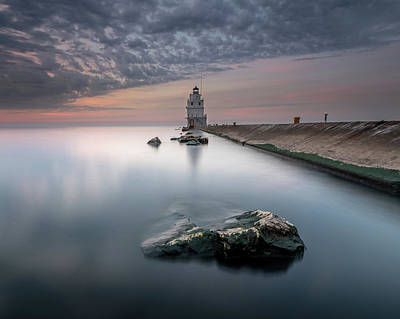 Photograph - The Light Between by Josh Eral