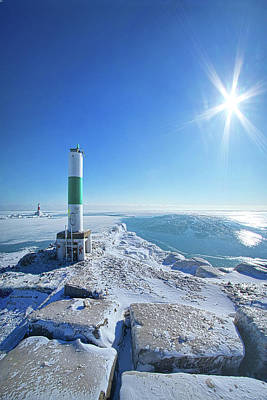 Print featuring the photograph The Light Keepers by Phil Koch