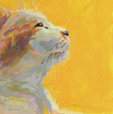 Lavendar Painting - The Light by Kimberly Santini