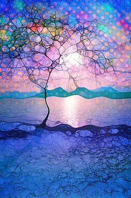 Digital Art - The Light Of A Winter Sky by Tara Turner
