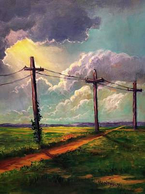 Painting - The Light Of God by Randy Burns