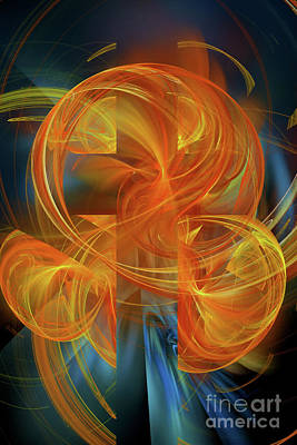 Digital Art - The Light Of Hope  by Olga Hamilton