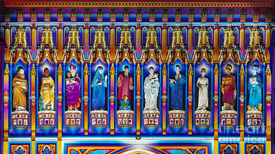 Kaleidoscopic Photograph - The Light Of The Spirit Westminster Abbey by Tim Gainey