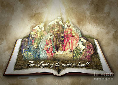 Photograph - The Light Of The World Is Born  by Leticia Latocki