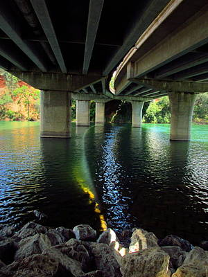 Photograph - The Light Under Bonneview Bridge by Joyce Dickens