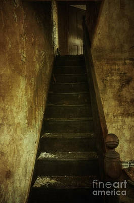 Photograph - The Light Upstairs by Debra Fedchin