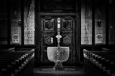 First Friday Photograph - The Light-vignette by Rick Bravo