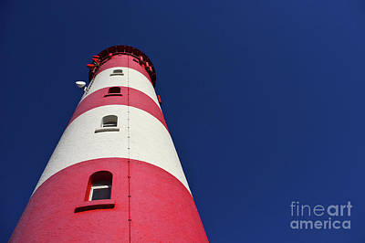 The Lighthouse Amrum Art Print by Angela Doelling AD DESIGN Photo and PhotoArt
