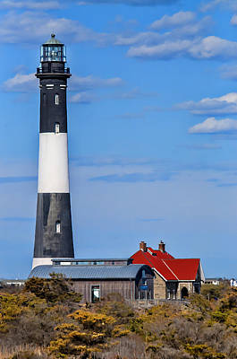 Princess Diana - The Lighthouse At Fire Island by Cathy Kovarik