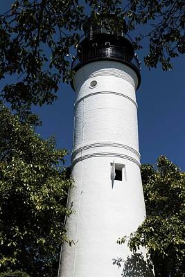 Photograph - The Lighthouse At Key West by Hany J