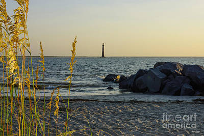 Photograph - The Lighthouse Beyond by Jennifer White