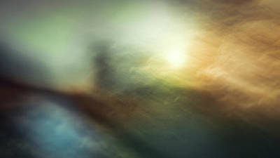Intentional Camera Movement Photograph - The Lighthouse by Chris Dale
