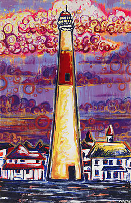 The Lighthouse Original by Christie Mealo